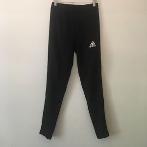 Adidas Climatecool Black 3 Striped Pants Size S